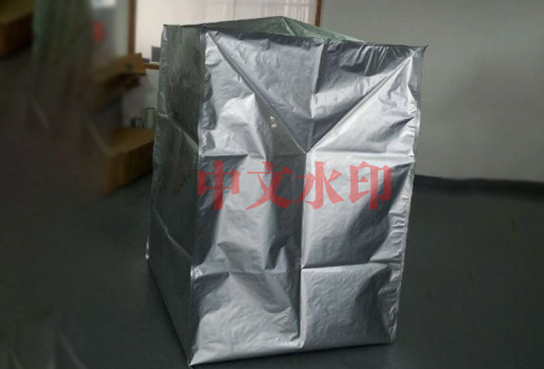 四方底铝塑立体防潮袋