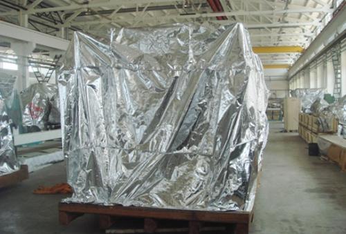 大立体铝箔袋