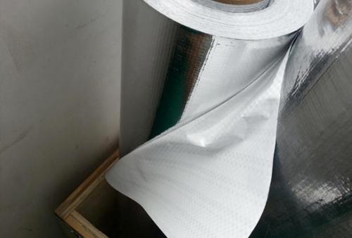 镀铝编织膜 铝塑膜