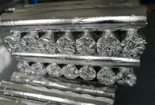 镀铝编织膜