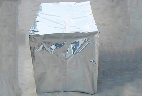 亮光镀铝膜立体袋