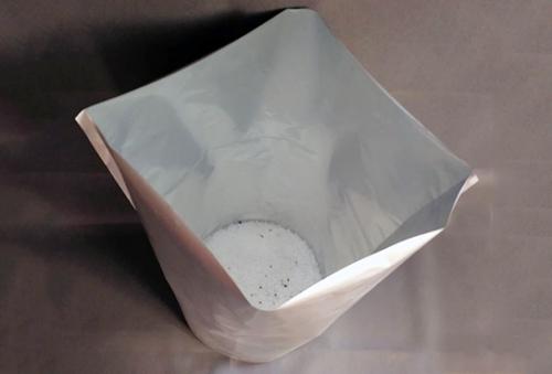 铝箔圆底袋内部