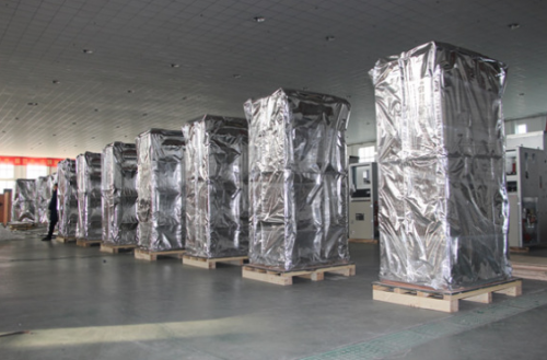 太仓发电机组电机柜海运防锈包装袋