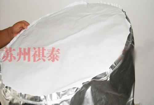 铝箔圆底袋表面